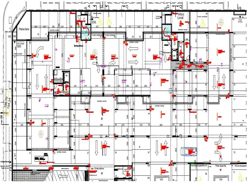 Plans d'implantations électriques des logements pour le SSOL